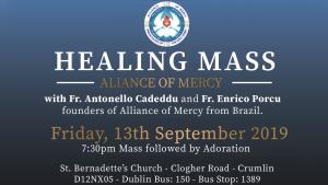 Alliance of Mercy Healing Mass